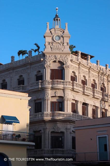 Palacio Cueto from plaza vieja havana cuba facade the touristin