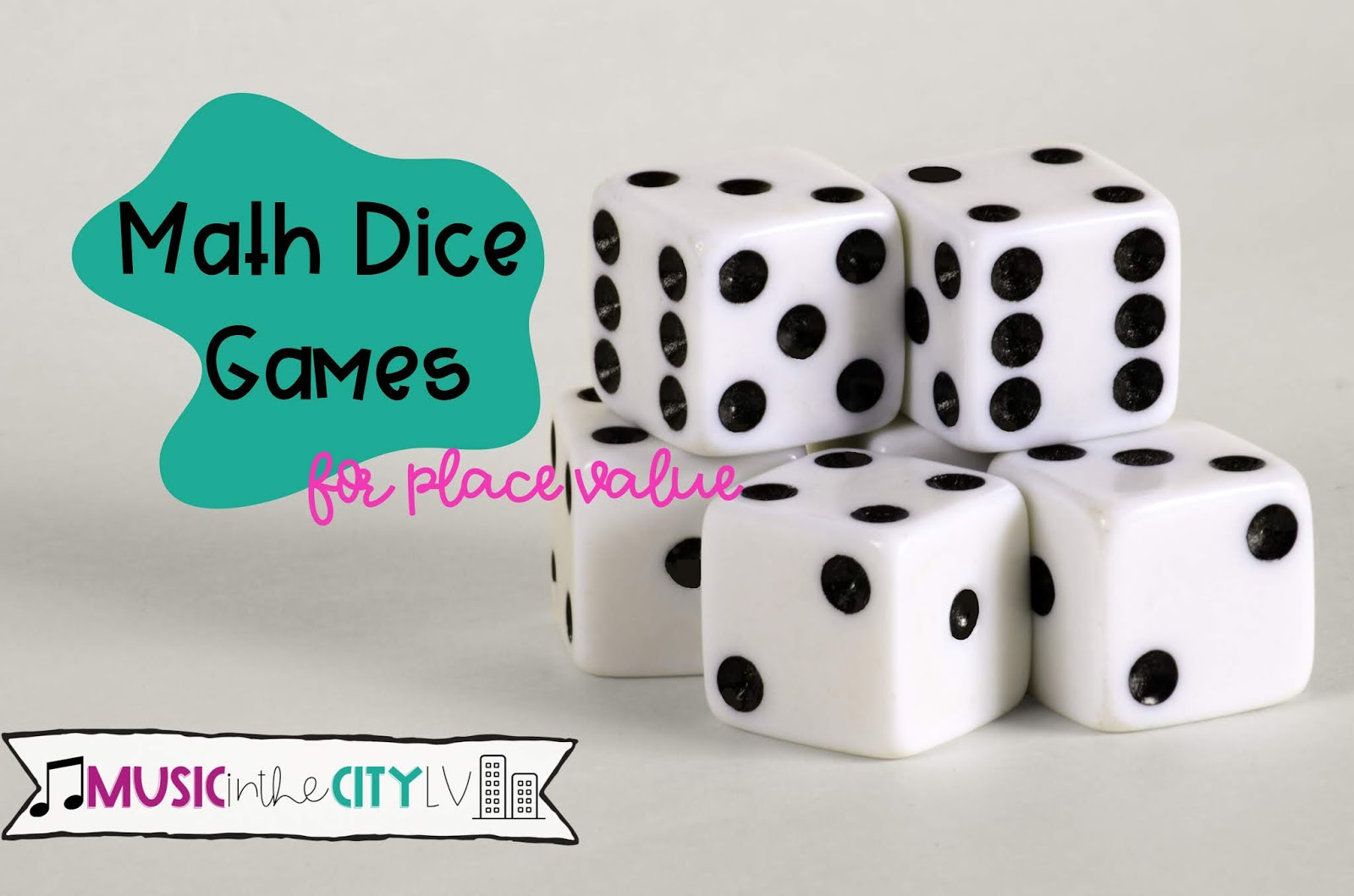 Math Dice Games For Place Value