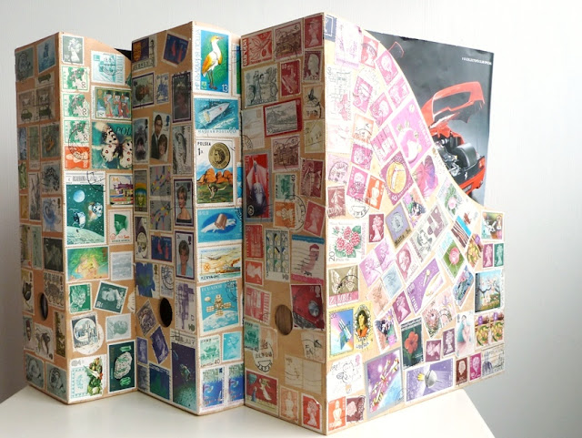 Best Home Decor Magazines: Notes On Paper: Going Postal: Stamps As Home-decor