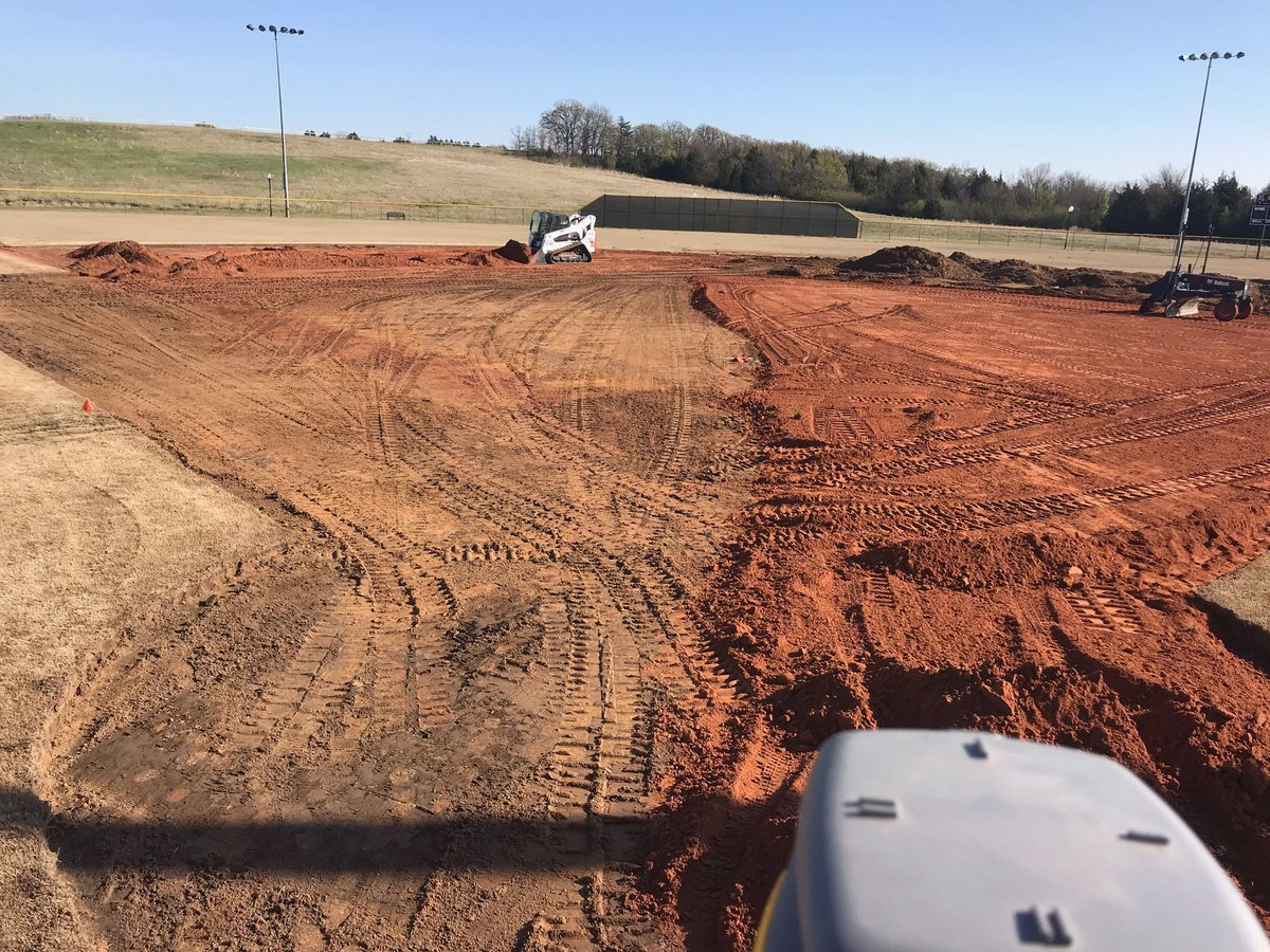 Progress being made on new Atoka Sports Complex ball fields