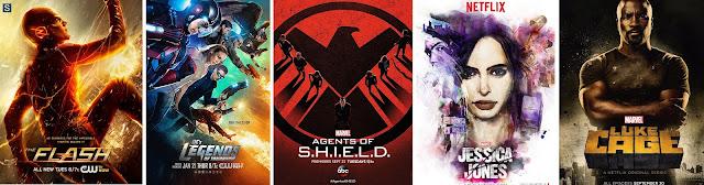 Seriale Marvela i DC