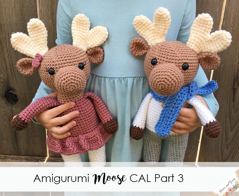 Amigurumi Moose CAL Part 3
