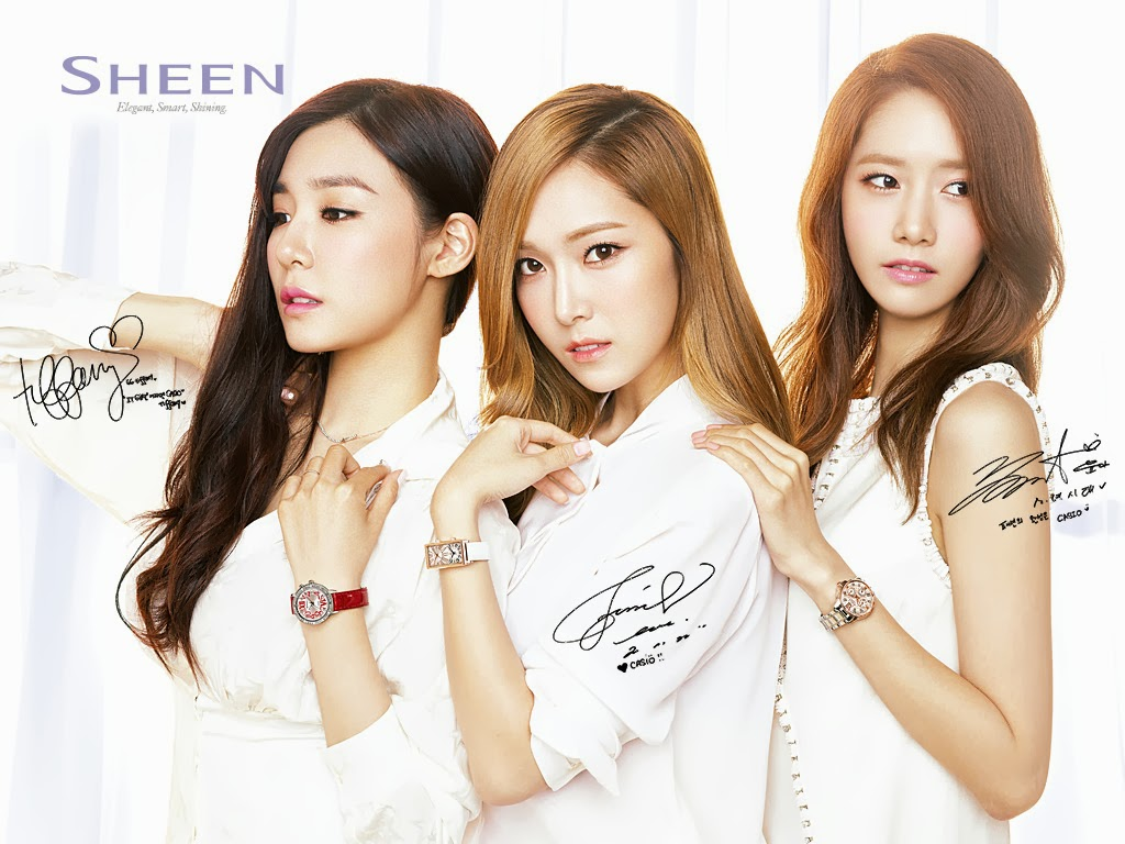 SNSD Tiffany, Jessica and Yoona - Casio 'SHEEN' Official ...