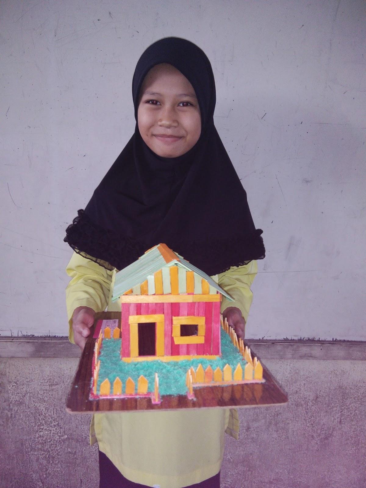 Miniatur Rumah Oleh Melia Gita Lestari Kelas Pak Pris