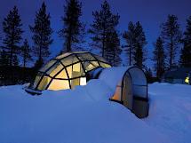 Boring Hotel Kakslauttanen En Finlandia