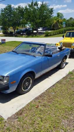 1981 Toyota Celica Convertible Project - Tow it Thursday