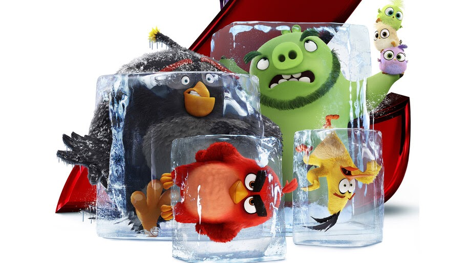 Angry Birds Movie 2, Bomb, Red, Chuck, Leonard, 8K, #12