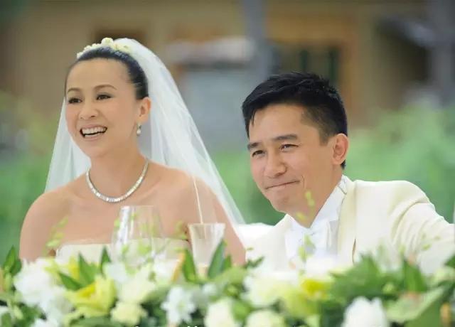 Tony Leung Carina Lau wife