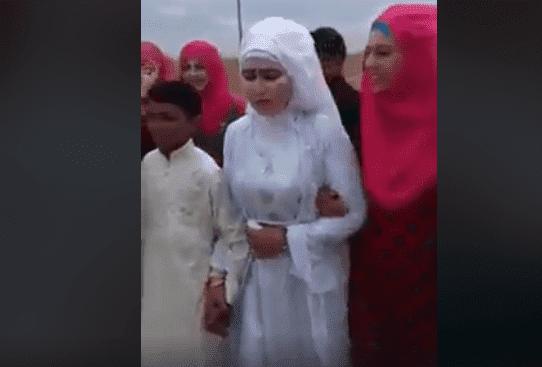 بالفيديو في سوريا حفل زفاف طفل في عمر13 بابنة عمه التي تكبره بنحو17 عاما