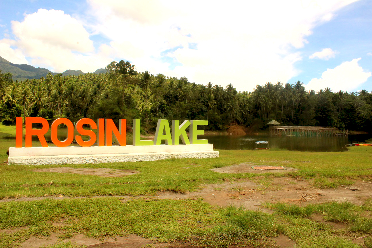 irosin lake in patag