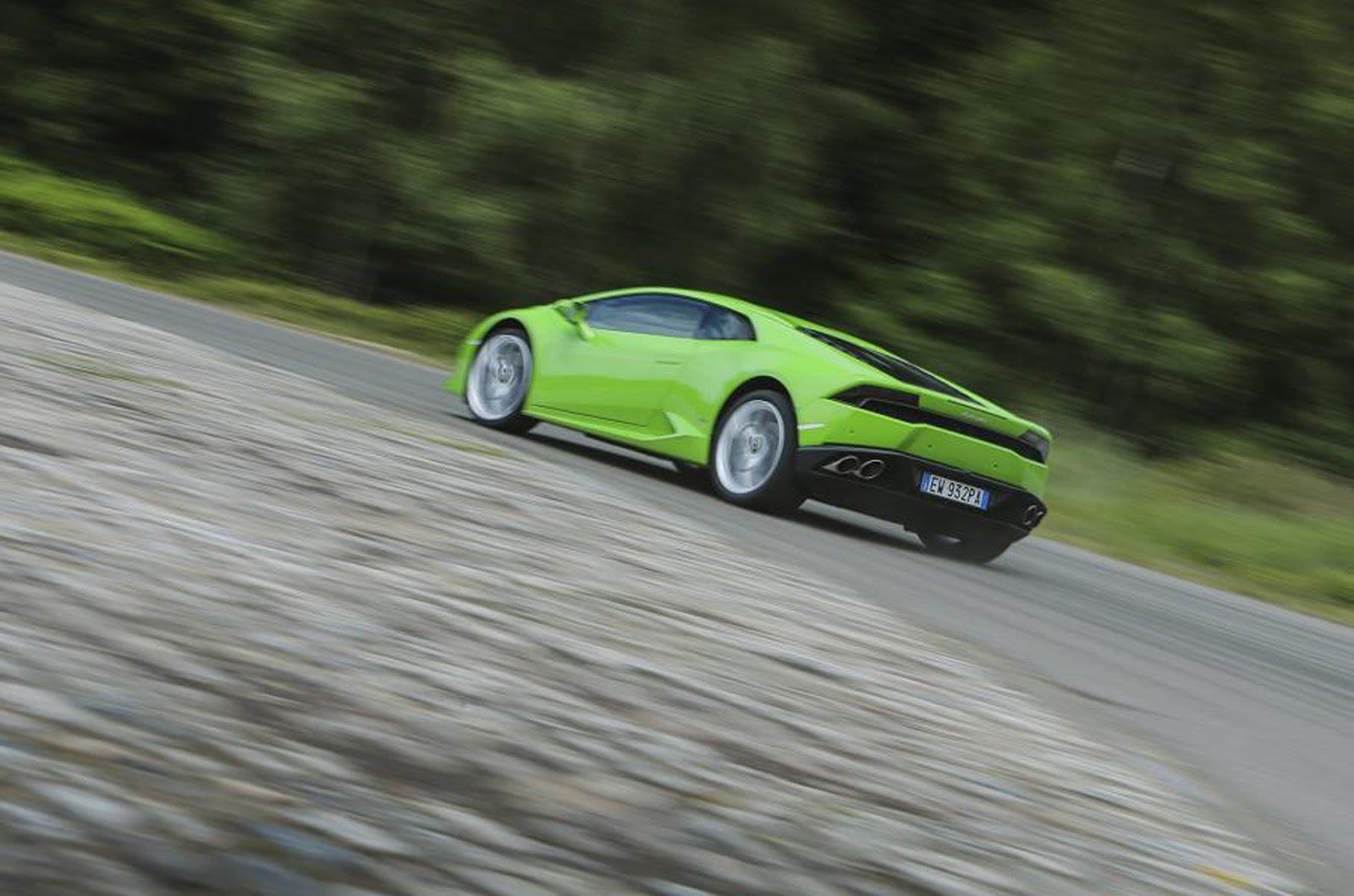Lamborghini Huracán Review