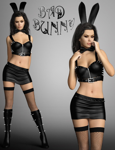 Bad Bunny for Genesis 3 Female
