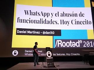 RootedCon 2016 - Daniel Martínez aka dan1t0: WhatsApp y el abusón...