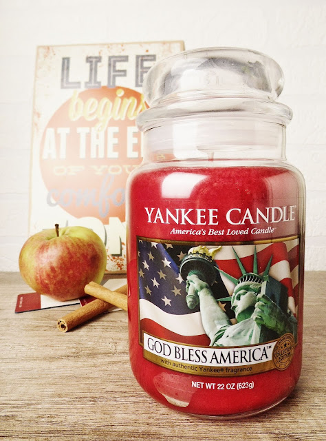 Recenzja Yankee Candle God Bless America