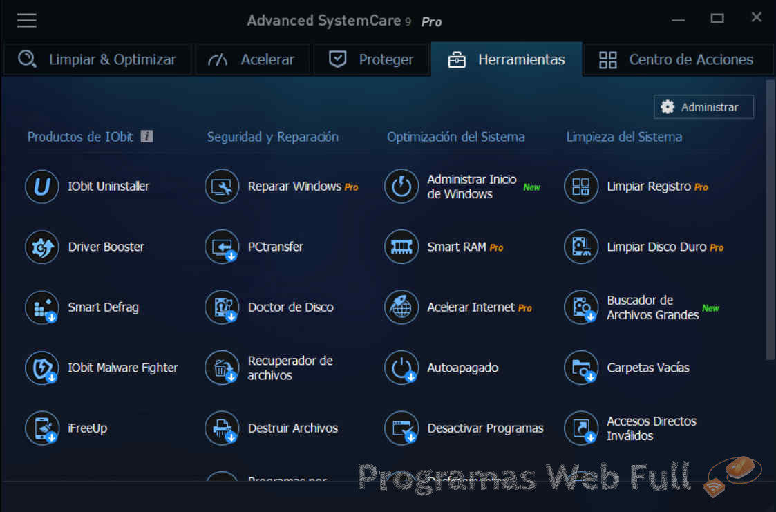 Advanced SystemCare PRO 9