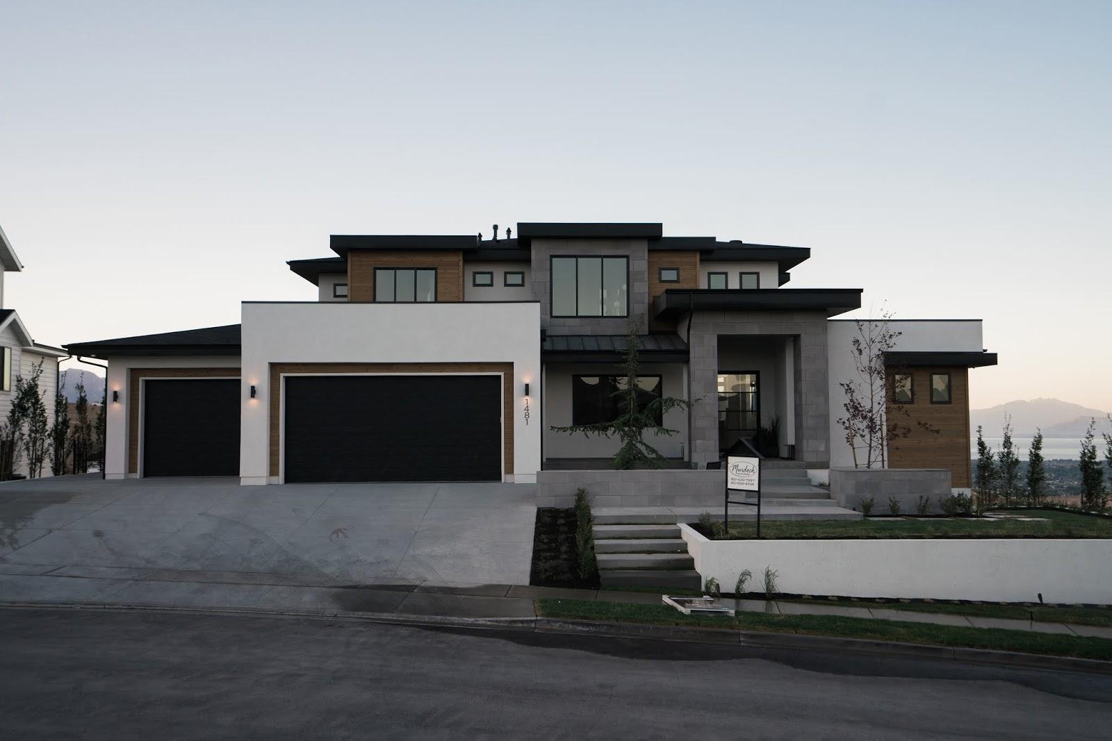 Utah Modern, Unique Home, Modern House
