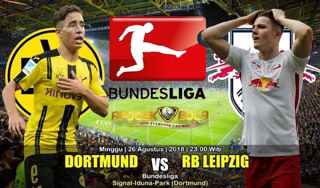 Prediksi Borussia Dortmund Vs RB Leipzig 26 Agustus 2018