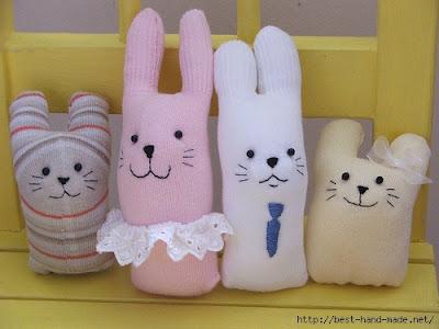 мягкая игрушка из носка для начинающих, мягкая игрушка из носка выкройки и схемы, мягкая игрушка из носка своими руками, мягкая игрушка из носка кошка, мягкая игрушка из носка своими руками заяц, мягкая игрушка из носка фото, зайчик, из носков, из трикотажа, из текстиля, зайчик из носков, для малышей, игрушки мягкие, зверушки, для детей, пасхальные игрушки, пасхальный заяц, шитье, http://handmade.parafraz.space/,