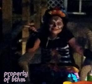 miss grace spooky night
