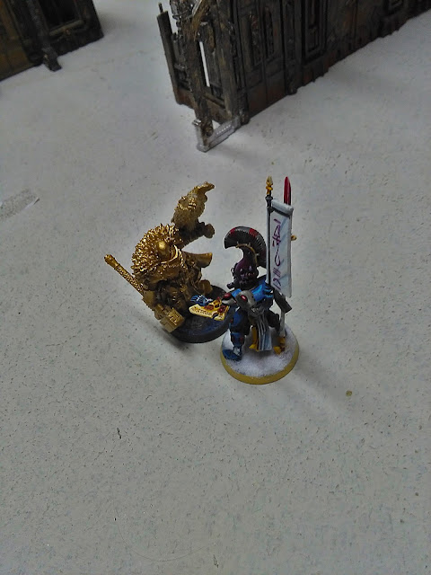 Imagen del duelo entre el exarca y el inquisidor.