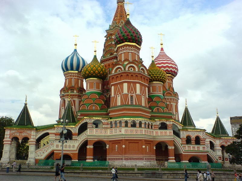 Saint Basil's Cathedral, Moscow, Russia - Top 20 Spots to See in Europe
