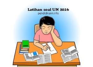 Latihan Soal UN SMA IPA IPS