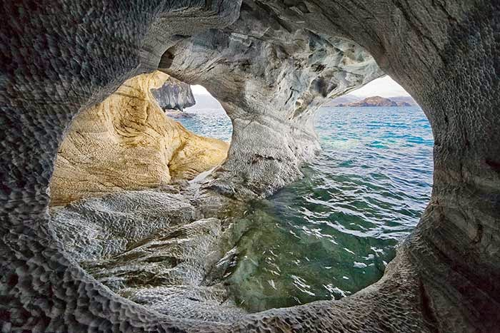 Amazing Caves in the World - Marble cave in Patagonia, Chile