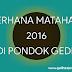 GERHANA MATAHARI 2O16 DI PONDOK GEDE, BEKASI