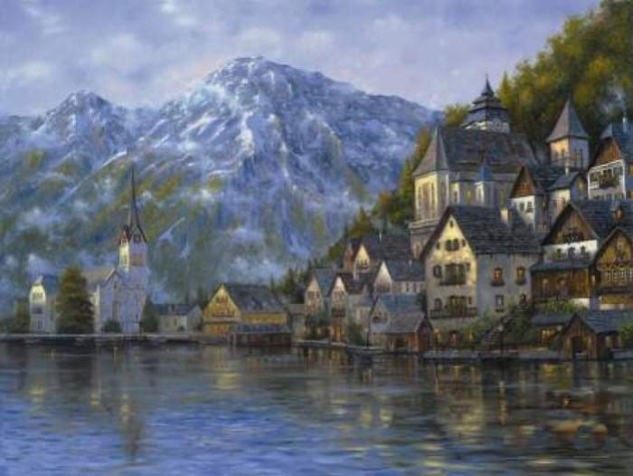 Романтические городские пейзажи. Robert Finale 13