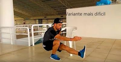 Melhor exercício de força de pernas peso do corpo - Nuno Gonçalves