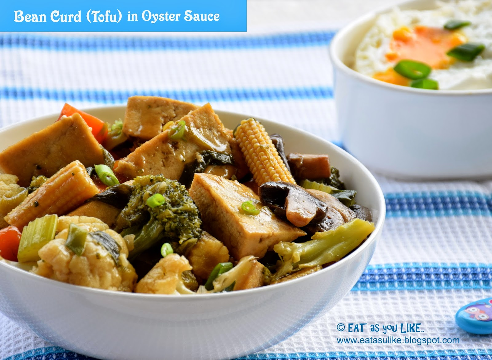 Eat As You Like Bean Curd Tofu In Oyster Sauce