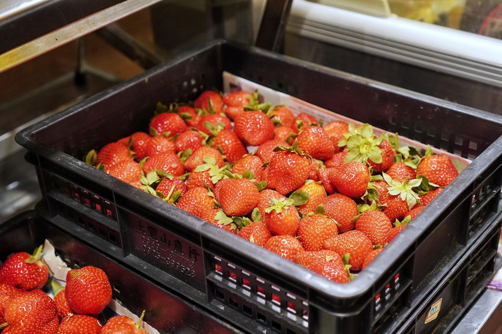 台南美食【南泉冰菓室】自家草莓