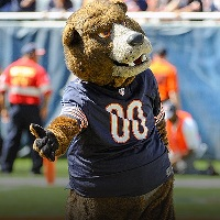 Staley Da Bear, the Chicago Bears mascot