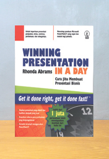 WINNING PRESENTATION IN A DAY, Rhonda Abrams