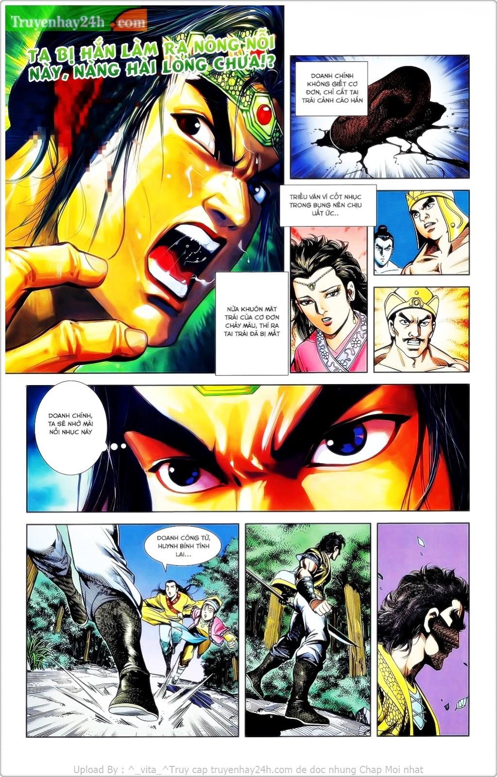 Tần Vương Doanh Chính chapter 23 trang 4