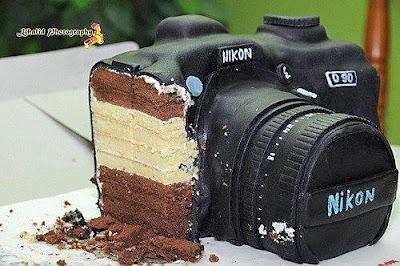 Lustige Kuchenbilder - Kamera