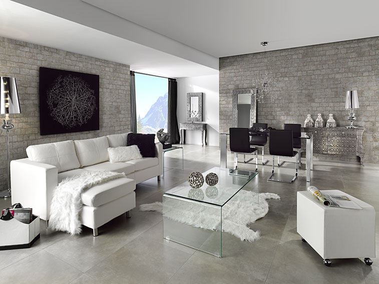 Dedecora salones estilo vintage - Muebles para el salon modernos ...