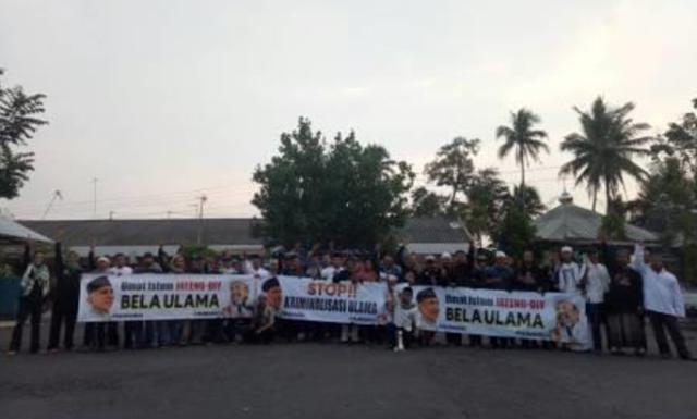 Prihatin Banyak Ulama Dikriminalisasi, Umat Islam Magelang Turun ke Jalan