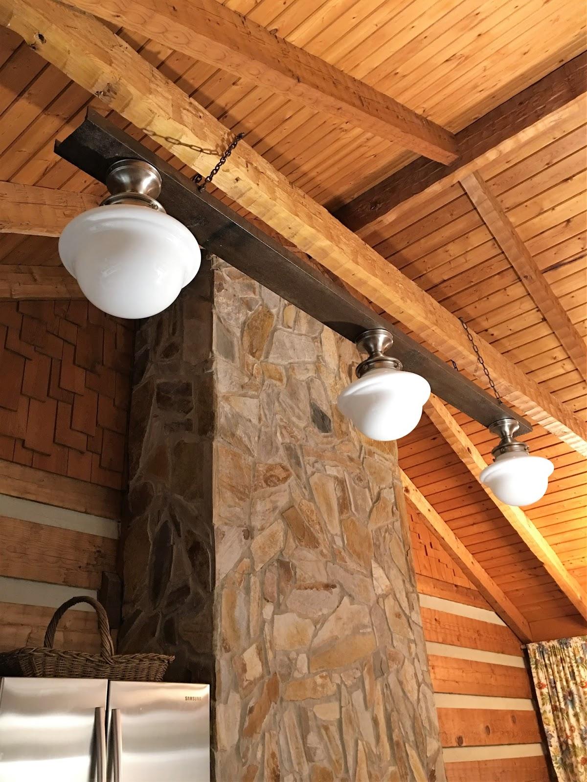 diy industrial farmhouse light fixture