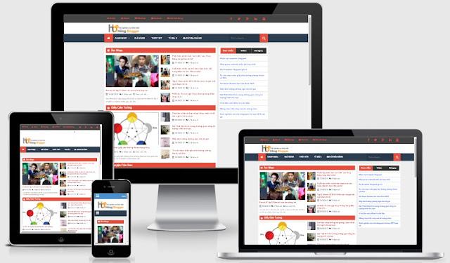 Template blogspot tin tức chuẩn seo miễn phí