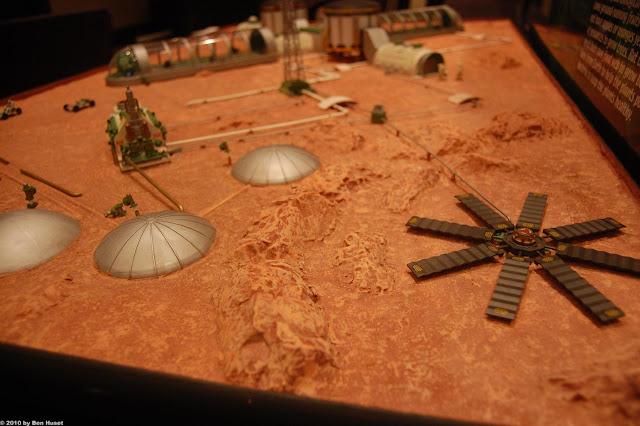 Mars base model