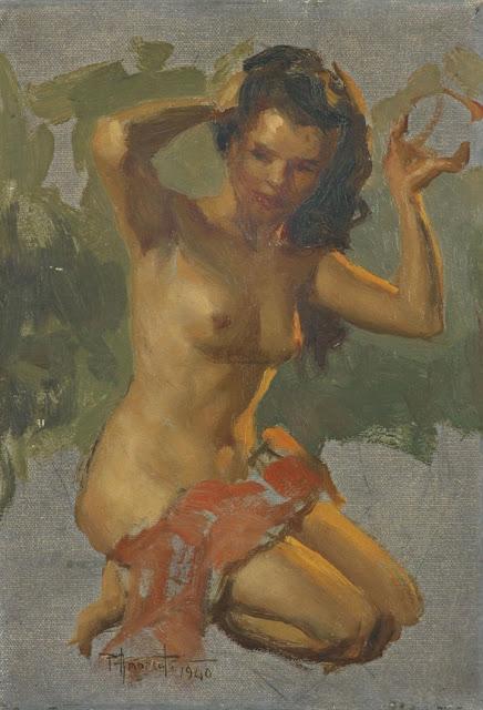 Fernando Amorsolo - Nude Girl 2 1940