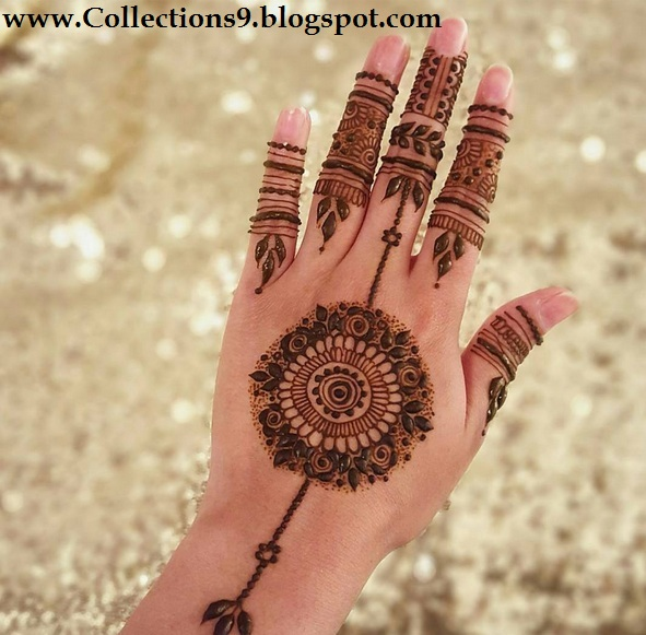 Mehndi Designs Tikka : Eid different mehndi designs ideas nsa