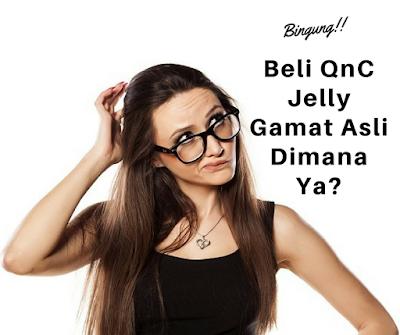 Dimana Beli QnC Jelly Gamat Asli?