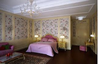 Habitación clásica para chica