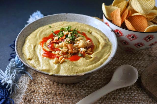 Thai Spicy Hummus