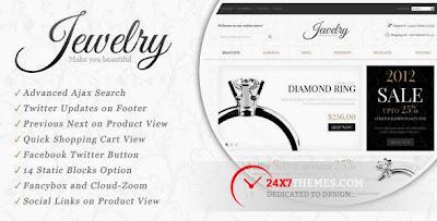 Jewelry Store – Magento Theme