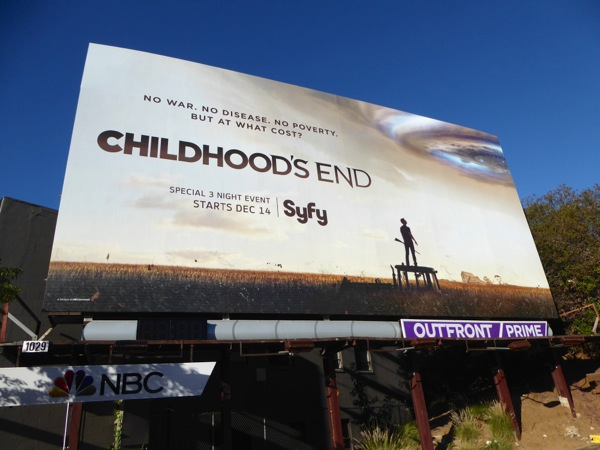 Childhoods End syfy series billboard