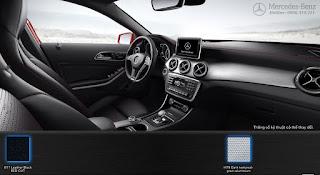 Nội thất Mercedes AMG GLA 45 4MATIC 2017 màu Đen 811