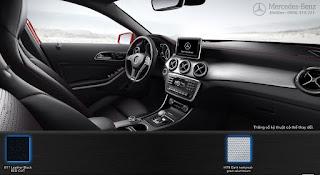 Nội thất Mercedes AMG GLA 45 4MATIC 2018 màu Đen 811